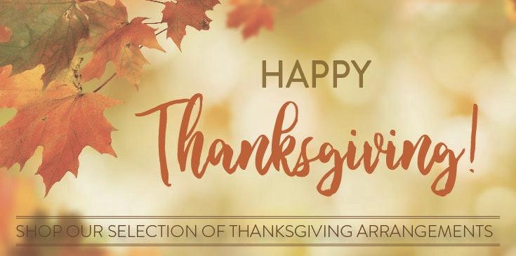 Shop our selection of Thanksgiving Arrangements