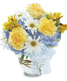 Baby Boy Bouquet