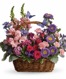 Country Blooms Basket