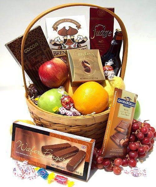 Fruit and Chocolate Basket