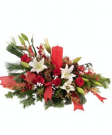 Holly Holiday Centerpiece