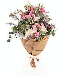 Premium Romantic Hand-Tied Bouquet