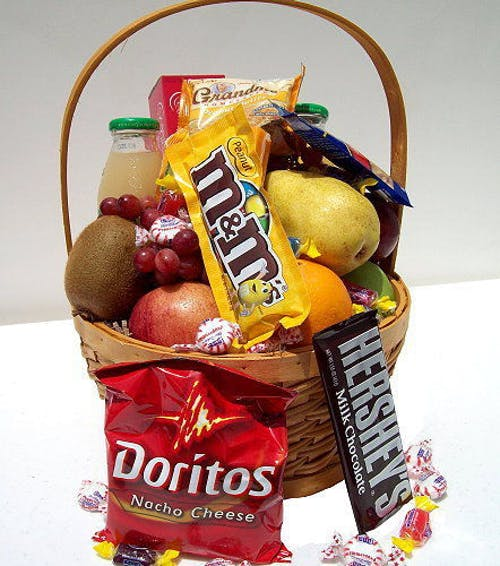 Fruit and Fun Food Basket