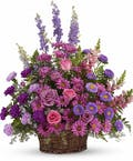 Gracious Lavender Basket