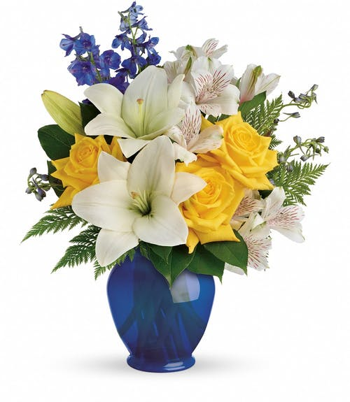 Oceanside Garden Bouquet