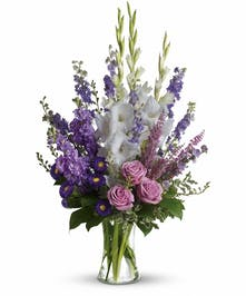 Make a grand statement in this joyful bouquet.