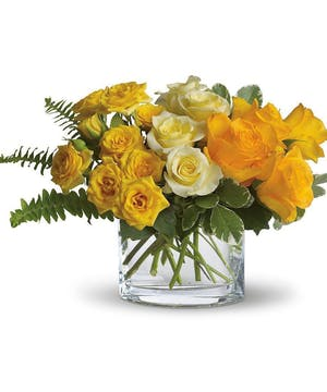 Send this ray-of-sunshine bouquet today!