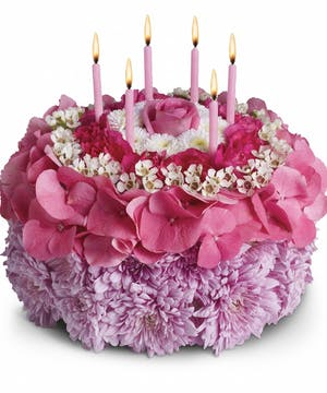Your Special Day Birthday Cake Bouquet