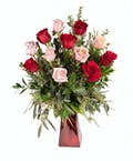 Vogt's Red and Pink Longstem Roses