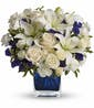 Saphire Skies Bouquet - Deluxe