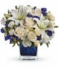 Saphire Skies Bouquet - Standard