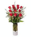 VIP 1 Dozen Longstem Red Roses