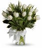 Tulips And Pine Bouquet - Deluxe