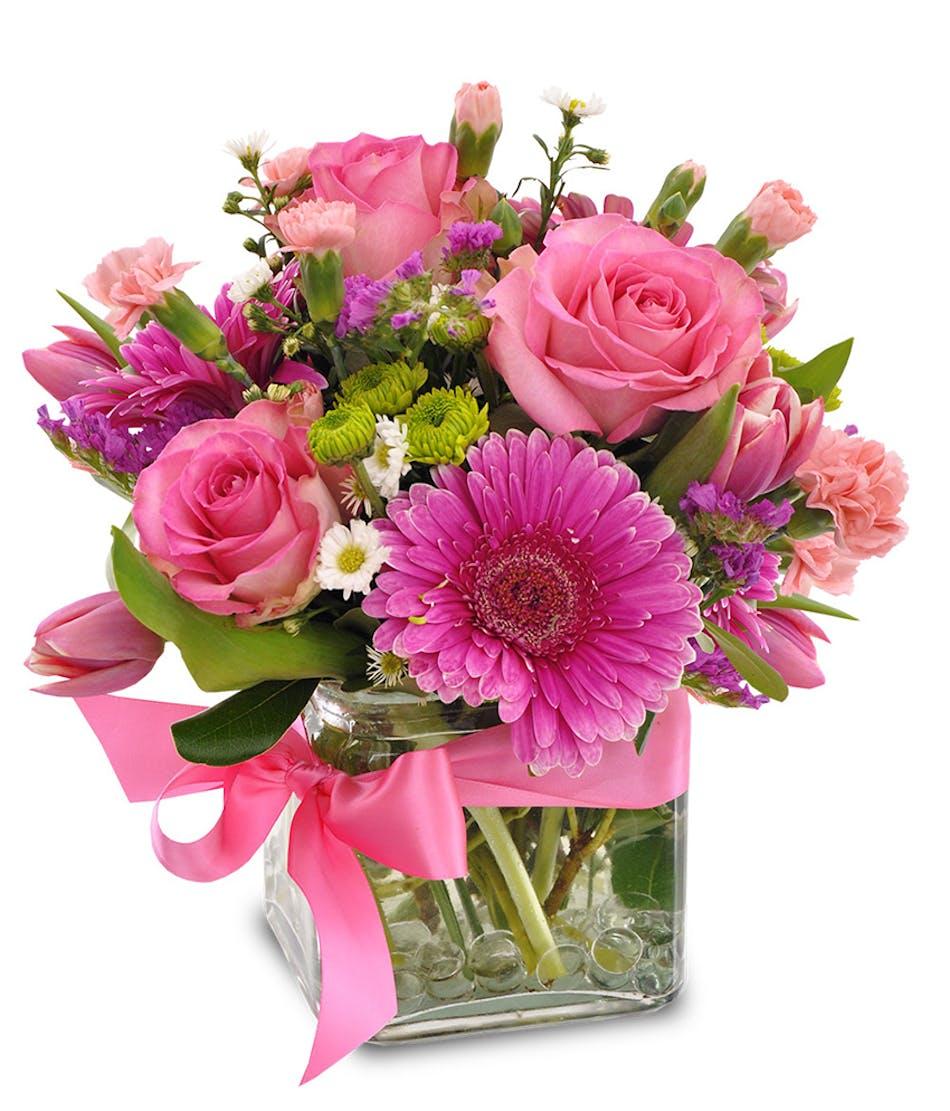 In The Pink Vogts Flowers Flint Mi Florist