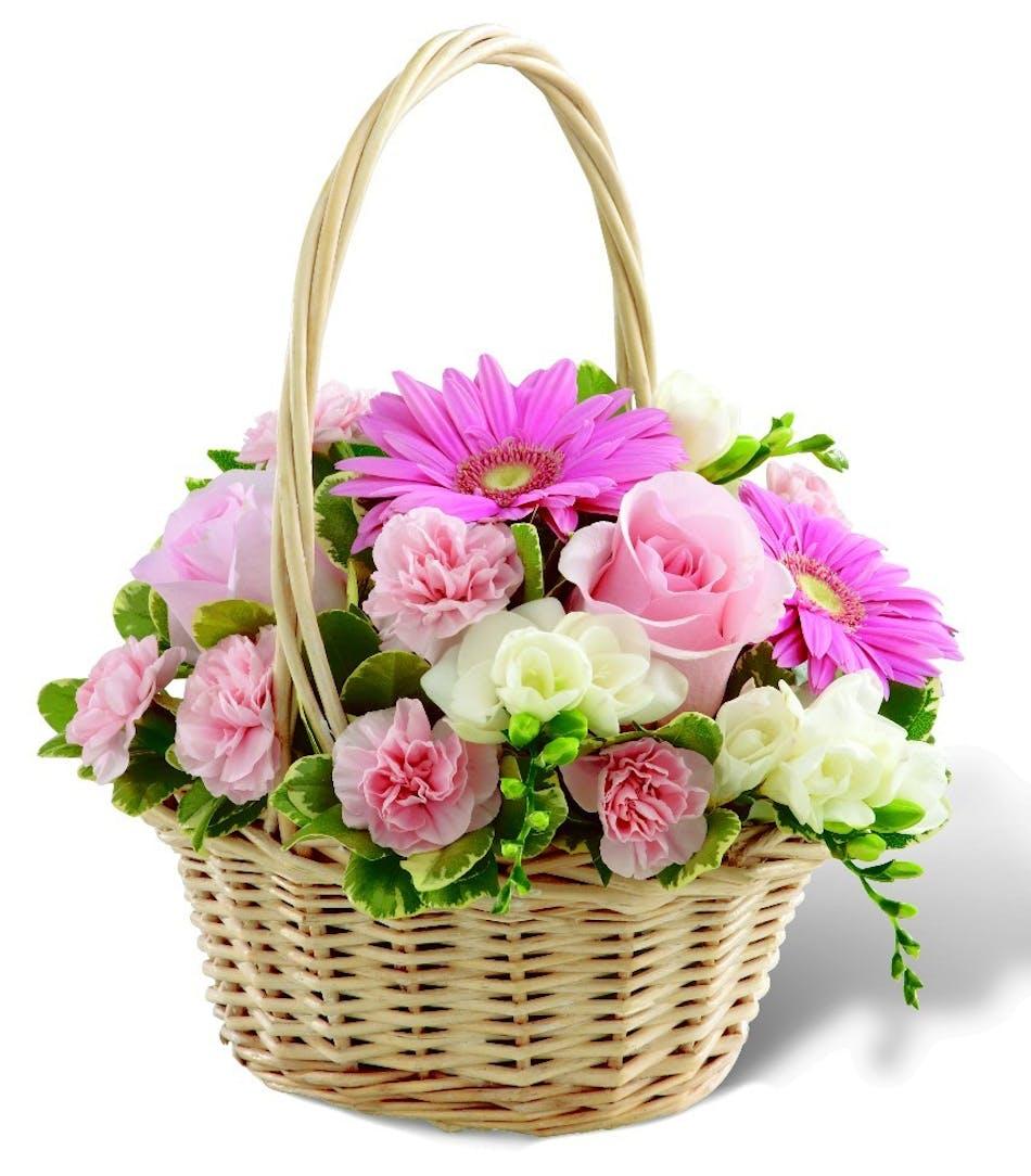 Enduring Peace Basket Vogts Flowers Funeral Sympathy Flushing ...