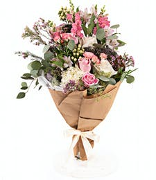 Premium Romantic Hand-Tied Bouquet