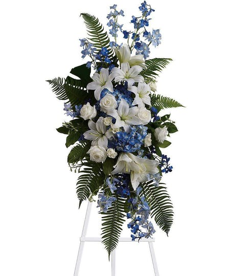 Standing Sympathy Arrangements and Wreaths